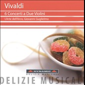 Vivaldi: 6 Concerti a Due Violini / Giovanni Guglielmo