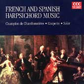 French and Spanish Harpsichord Music / Jörg Becker
