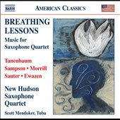 Breathing Lessons - Music For Saxophone Quartet