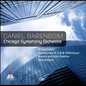 Barenboim & the Chicago SO - Tchaikovsky: Symphonies nos 4-6; 1812 Ov. et al