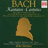 Bach: Magnificat, Cantatas / Thomas, Giebel, H&#246;ffgen, et al