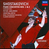 Shostakovich: Piano Concertos Nos. 1 & 2; Symphony no 9 / Peter Jablonski, Cristina Ortiz