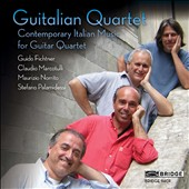 Contemporary Italian Music for Guitar Quartet by Nicotra; Schiavone; Jappelli; Sollima; Maderna / Guitalian Quartet