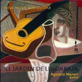 El Jardin de Lindaraja: New Music for Guitar - works by Miras, Gonzalez, Caballero, Zoccatelli / Agustin Maruri, guitar