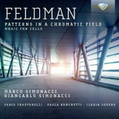 Feldman: Patterns in a Chromatic Field - Music for cello / Marco Simonacci, Giancarlo Simonacci