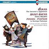 Dukas: Sorcerer's Apprentice; Saint-Saens, etc / Gibson