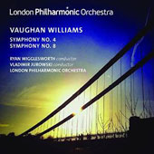 Vaughan Williams: Symphonies Nos. 4 & 8 / Wigglesworth, Jurowski, London PO