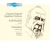 Beethoven: Piano Concerto No. 1; R. Strauss: Till Eulenspiegel; Festive Prelude, Op. 61 / Kalle Randalu, piano; Neeme Jarvi, Estonian Nat'l SO