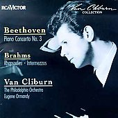 Beethoven: Piano Concerto no 3;  Brahms: Rhapsodies, etc