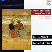Le chant des oiseaux - Cello Favourites / Motard, Baril
