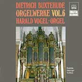 Buxtehude: Complete Organ Works Vol 6 / Harald Vogel