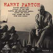 The Harry Partch Collection Vol 1
