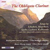 The Obligato Clarinet - Lachner, Obiols, Spohr / James