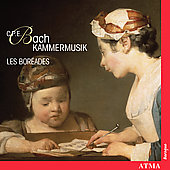 CPE Bach: Chamber Music / Les Boreades