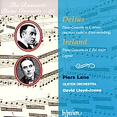 The Romantic Piano Concerto Vol 39 - Delius, Ireland