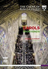 Carols from King's - the full service features favorite carols and lessons / King's College Choir, Cleobury [DVD]