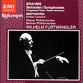 Brahms: Complete Symphonies / Furtw&#228;ngler, et al
