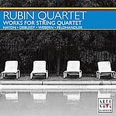 Haydn, Debussy, Webern, et al / Rubin String Quartet