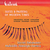 Suites & Partitas of Modern Times / Rubenstein, et al