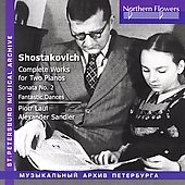 Shostakovich: Complete Works for Two Pianos / Laul, Sandler