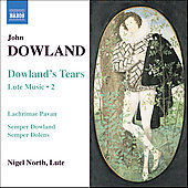 Dowland: Lute Music Vol 2 / Nigel North