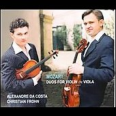 Mozart, Handel: Duos for Piano and Viola / Costa, Frohn