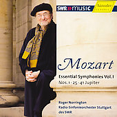 Mozart: Essential Symphonies Volume 1 / Norrington,  et al