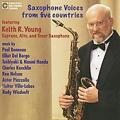 Saxophone Voices from Five Countries / Keith R. Young