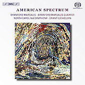 American Spectrum - Daugherty, Williams, Rorem, Rouse / Branford Marsalis, Grant Llewellyn, et al