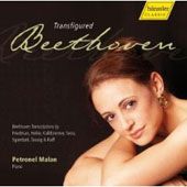Transfigured Beethoven - Transcriptions by Heller, Friedman, etc / Petronel Malan