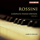 Rossini: Complete Piano Edition Vol 4 / Marco Sollini