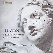 Haydn: 6 Paris Symphonies, etc / Bruno Weil, Tafelmusik