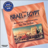 H&#228;ndel: Israel in Egypt; Zadok the Priest; The King Shall Rejoice