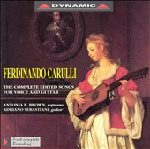 Carulli: The Complete edited Songs for Voice & Guitar