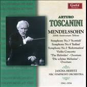 Toscanini - Mendelssohn 200th Anniversary Tribute