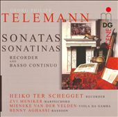 Telemann: Sonatas & Sonatinas for Recorder & Basso Continuo