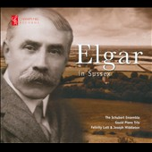 Elgar in Sussex: Piano Quintet; Seven Songs; Three Movements for piano trio / Felicity Lott, soprano