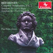 Beethoven: Complete Symphonies, Vol. 2 / Paul Kim, piano