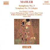Mahler: Symphony no 3, etc / Wit, Polish Radio Symphony