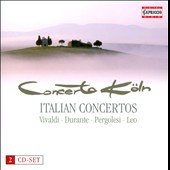 Italian Concertos by Vivaldi, Pergolesi, Durante, Scarlatti & Leo / Concerto Koln [Hybrid SACD]