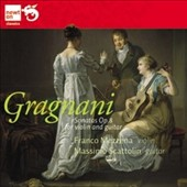 Filippo Gragnani: Sonatas for violin & guitar, Op. 8 / Franco Mezzena, violin; Massinto Scattolin, guitar