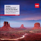 Dvor&aacute;k: Symphonies Nos. 8 & 9 / Sawallisch - Philadelphia Orchestra