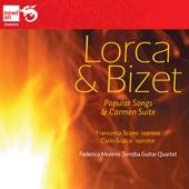 Lorca, Bizet: Popular Songs; Carmen Suite / Francesca Scaini, soprano; Carlo Scalco, narrator