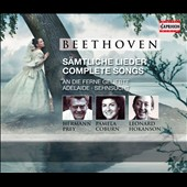 Beethoven: Complete Songs / Hermann Prey, Pamela Coburn, Leonard Hokanson [3 CDs]