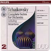 Tchaikovsky: Complete Suites for Orchestra / Antal Dorati
