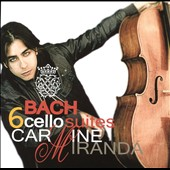 Bach: 6 Cello Suites, BWV 1007 - 1012 / Carmine Miranda, cello