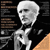 Ludwig van Beethoven: Complete Symphonies and Selected Overtures / Toscanini (from the 1939 cycle)