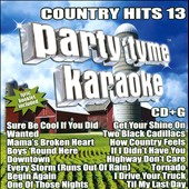 Karaoke: Party Tyme Karaoke: Country Hits, Vol. 13