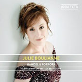 Handel & Porpora: Songs & Arias 'The London Years' / Julie Boulianne, mezzo soprano
