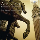 Albinoni: Trattenimenti Armonici, Op. 6 for violin, cello and instrumental ensemble / Giorgio Tosi, violin; Marlise Goidanich, cello; Carlo Centemeri, organ